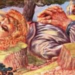 Þórr cố giết Skrýmir (1908) – tranh của Patten Wilson
