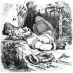 Þórr và người khổng lồ Skrýmir (1882) – tranh của F. W. Heine