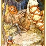 Þórr và người khổng lồ Skrýmir (1930) – tranh của Charles E. Brock