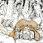 Người khổng lồ Skrýmir (1913) – tranh của Frederick Richardson