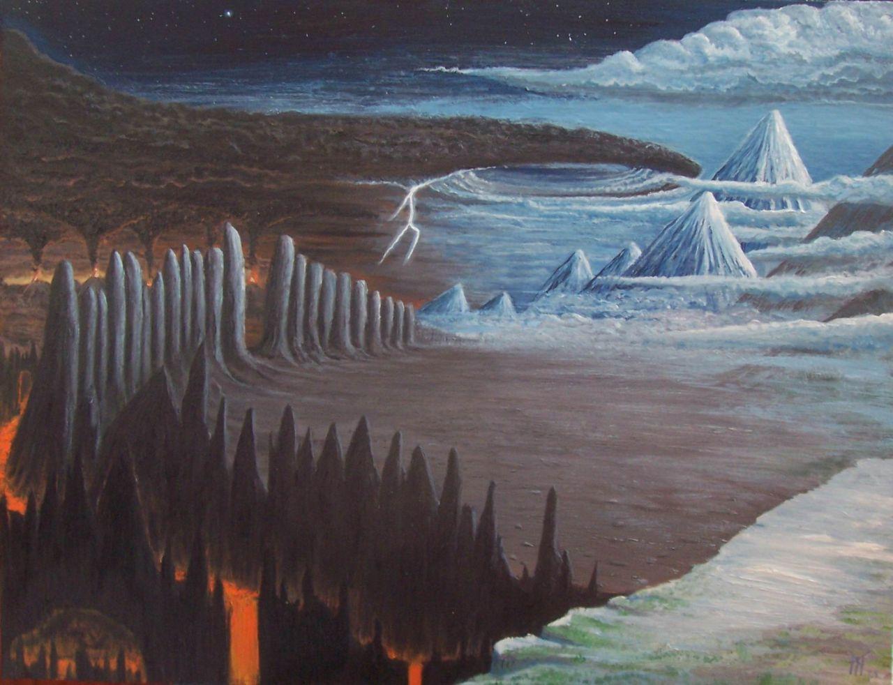 Vígríðr (2008) – tranh của Miroslav Zapletal